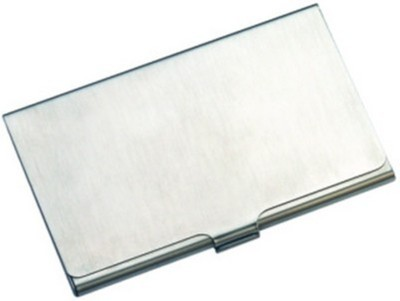 Shree Ji Enterprises 1 Compartments Alloy, Stanless Steel Card Holder