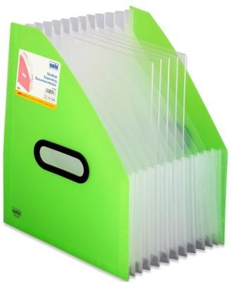 Solo 13 Compartments Polypropeylene Plastic Desktop Expanding Document Holder