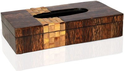 Opulent Homes 1 Compartments Resin Tissue box