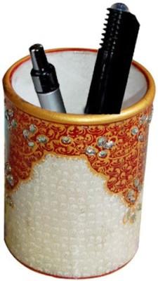Jaipurikala Rajasthani Series 1 Compartments Marble Pen Stand