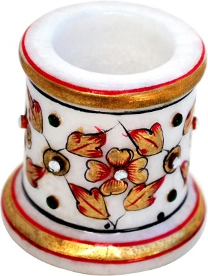 Handicrafts Paradise 1 Compartments Marble Toothpic Holder