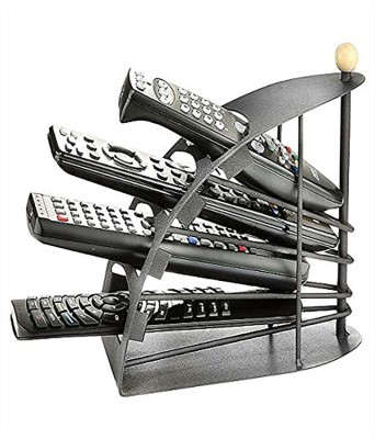 Inventure Retail 4 Compartments Metal Remote Organizer