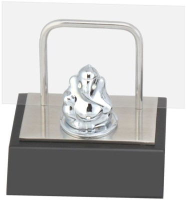 Excelencia Modern Office 1 Compartments Metal Cute Ganesha With Visiting Card Holder