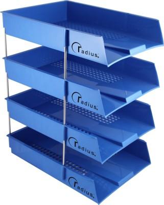 Radius In 4 Compartments plastic Tray