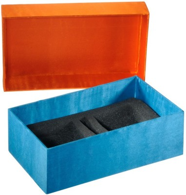An Yahh!! 2 Compartments MDF, Satin Box Organizer
