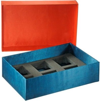 An Yahh!! 6 Compartments MDF, Satin Box Organizer
