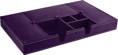 Ecoleatherette Regular 7 Compartments Leatherette Office Tray