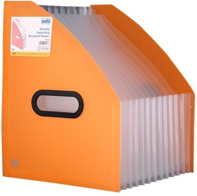 Solo 13 Compartments Polypropylene Plastic Desktop Expanding Document Holder