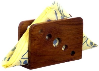 D,sign Lab 1 Compartments Wooden Tissue Paper/Napkin Holder