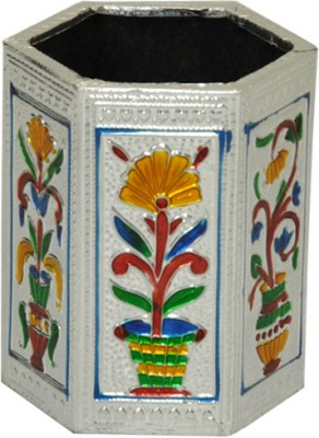 Rangsthali RWDN00024-9 1 Compartments Wooden Pen Stand