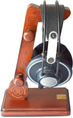Signature Acoustics 0 Compartments Wooden Headphone Stand