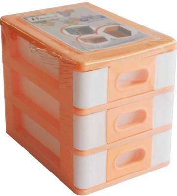 Hanbao 3row 3 Compartments Plastic Portable