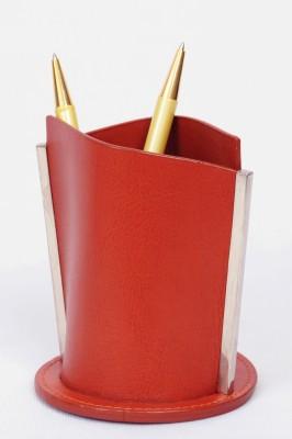 Knott BLU/PH 1 Compartments Artificial Leather Pen/Pencil Holder