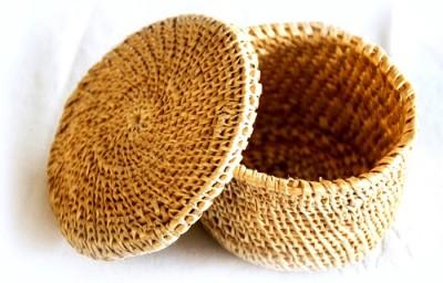Rista Handicrafts 1 Compartments Grass 042