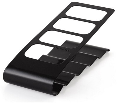 Flintstop 4 Compartments Metal Remote Stand