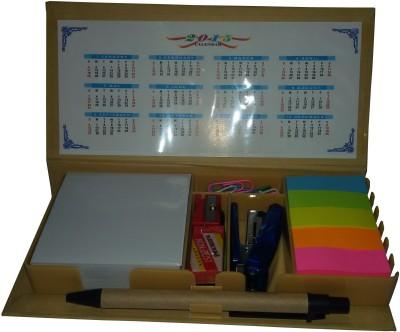 Ek Retail Shop Memo Pad-2 5 Compartments Card Board Desk Organizer