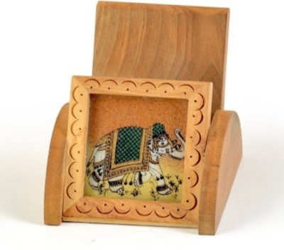 SIDHIVINAYAK ENTERPRISES 1 Compartments WOODEN Mobile Stand