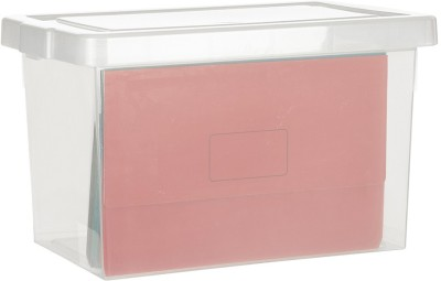Howards Storage Box 1 Compartments Plastic File Holder