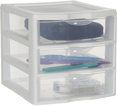 Howards 3 Compartments Plastic Free standing Drawer