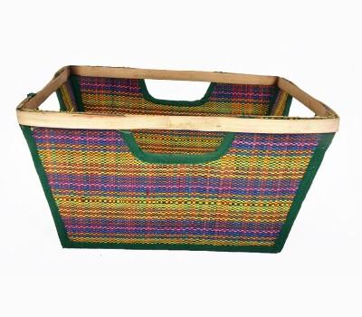 MayurShilpa 1 Compartments Sabai Grass, loom Bin Folder