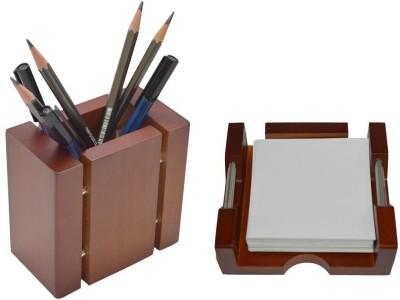 Knott 1 Compartments Wood Pen Holder