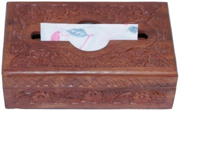 Univ 1 Compartments Wooden Tissues Paper Holder
