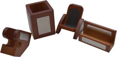 Knott 1 Compartments Wood Desk Organiser
