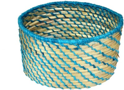 MayurShilpa 1 Compartments Sabai Grass, Thread Oval Pen Stand