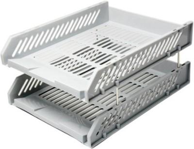 Omega 2 Compartments Plastic File Holder