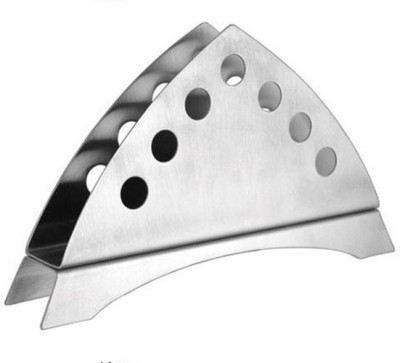 Dynore Triangle 1 Compartments Stainless Steel Napkin Holder