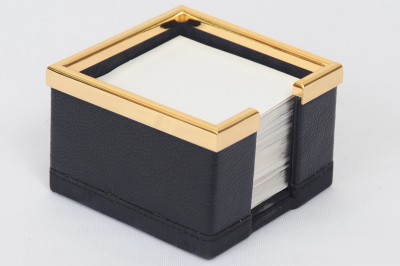 Knott BLU/SL 1 Compartments Faux Leather Black Slip holder