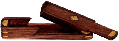 Univ 1 Compartments Wooden Pen Box