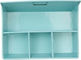 ELAN 1 Compartments Iron Desk Organiser