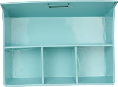 Elan Desk Organizer 4 Compartments Metal Desk Supplies Organisers