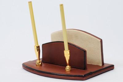 Knott BLU/PH 1 Compartments Faux Leather Pen/pencil envelope holder