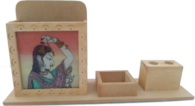 Impreso 1 Compartments Wooden Mobile stand