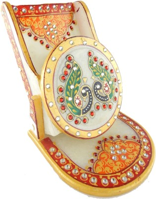 Chave 1 Compartments Marble Mobile Stand