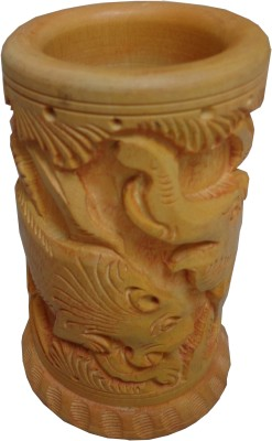 Parvidvap Handicrafts Special 1 Compartments Wood Pen Stand