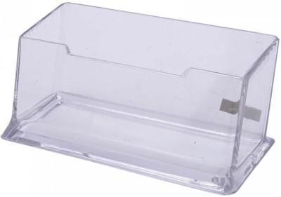 Kebica 1 Compartments Plastic Desktop Card Holder