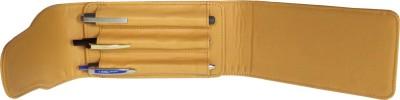Essart 3 Compartments Leather Pen Holder