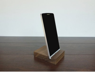 Onlineshoppee CAC 1 Compartments Wooden Mobile Stand