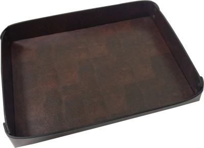 Essart 1 Compartments Leather Tray