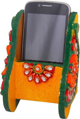 Jaipur Raga 1 Compartments wood Mobile Stand