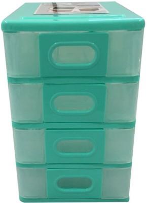 Hanbao Nokia 4 Compartments 100% Virgin Polypropylene Plastic Material Desk Organiser