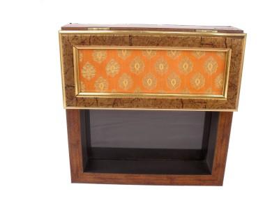 Sheela's Arts&Crafts 1 Compartments Wooden Tissue Box