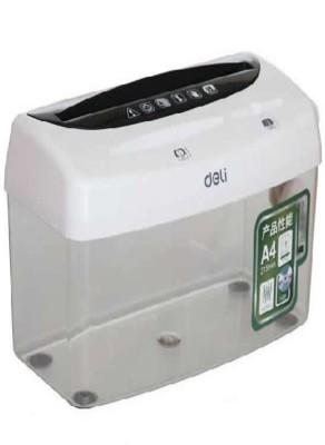 Deli 1 Compartments Plastic Desktop Hand Operated Shredder