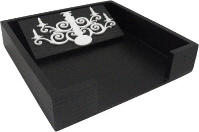 Aradhana Arts 1 Compartments Wood Tissue Tray