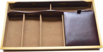 Knott 6 Compartments Leather Utility Box