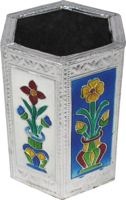 Paramsai 1 Compartments Brass Pen Stand