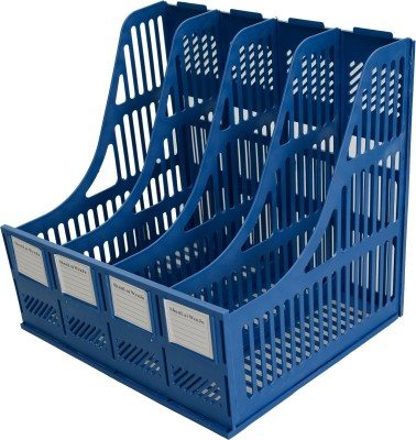 Lifestyle-You Document Holder 4 Compartments Plastic File Rack